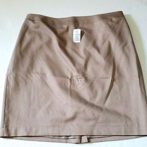 BNWT Tan  skirt